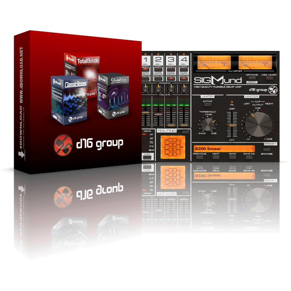 D16 Group Plugin Bundle 2020.10 Full version