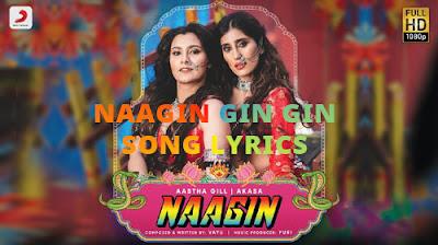 naagin gin gin song lyrics,naagin gin gin song lyrics in hindi,naagin gin gin song lyrics download