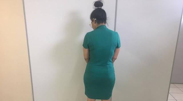 Suspeita de estelionato é presa pela segunda vez em 45 dias em Colombo