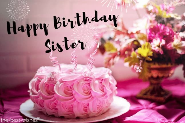 Outstanding The Best Happy Birthday Wishes And Messages For Sister Funny Birthday Cards Online Alyptdamsfinfo