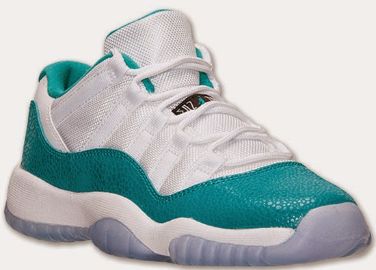 official photos b9eec d05ce ... low price girls air jordan 11 retro low gs safari white turbo green  volt ice black