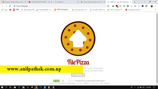 Most useful websites on the internet you should know - file.pizza
