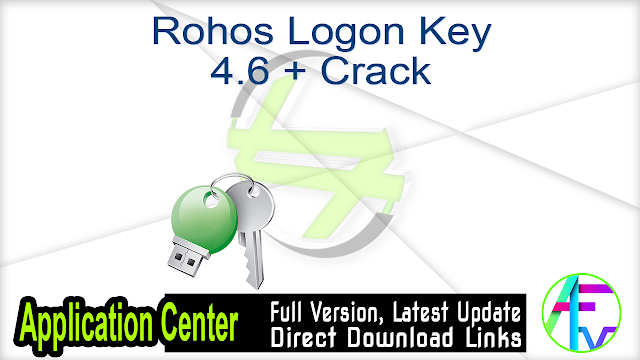 Rohos Logon Key 4.6 + Crack