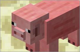 Minecraft Pig Figures