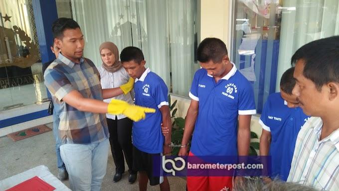 Tiga Pemuda Ditangkap Salah Satu nya Warga Sukowono ,Satreskoba Polres Jember