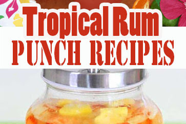 Tropical Rum Punch Recipes