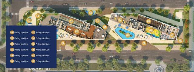Tiện ích Wyndham Sailing Bay Resort Quy Nhơn