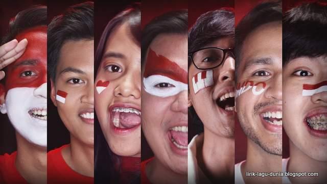 Lirik Lagu INDONESIA! - Asian Games 2018 (Lagu dari Youtubers Indonesia untuk Atlet Indonesia)