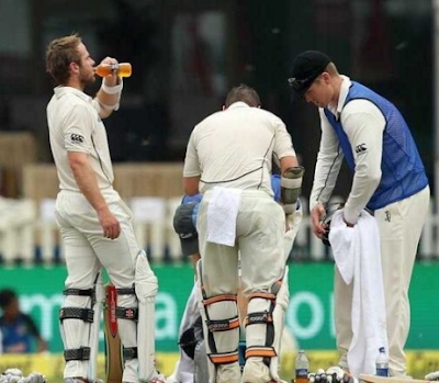 Batsmen in between Break
