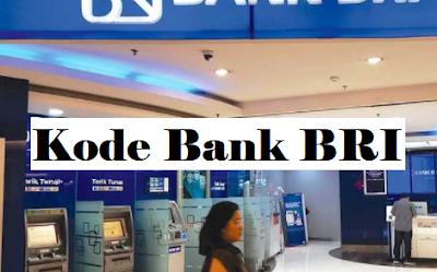 Kode Transfer Bank BRI