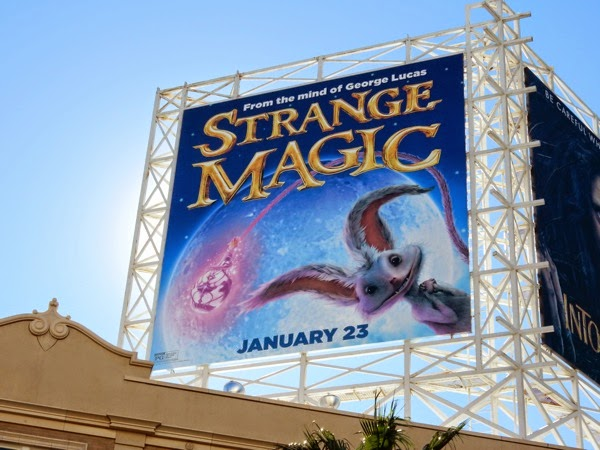 Strange Magic movie billboard