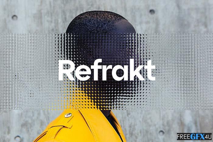 12 Refrakt Patterned Glass Effects
