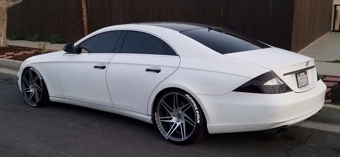 2006 Mercedes Benz W219 Cls 500 On R20 Wheels Benztuning