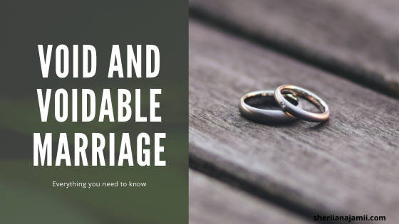Void and Voidable marriage meaning, differences, causes and impact