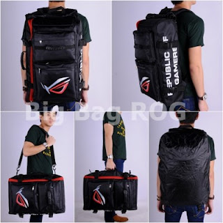Gaming Bag - Tas Gaming BIGBAG Backpack - ROG