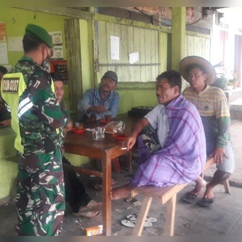 Cegah Penyebaran Covid-19 Diwilayah, Personel Jajaran Kodim 0207/Simalungun Tinjau Intensitas Warga Binaan