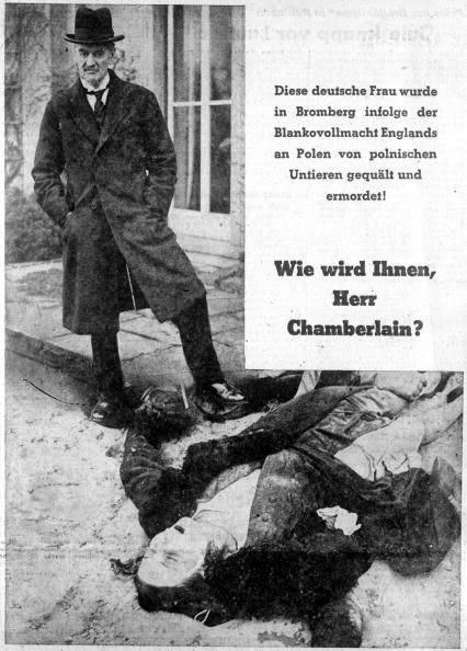 worldwartwo.filminspector.com Neville Chamberlain German propaganda
