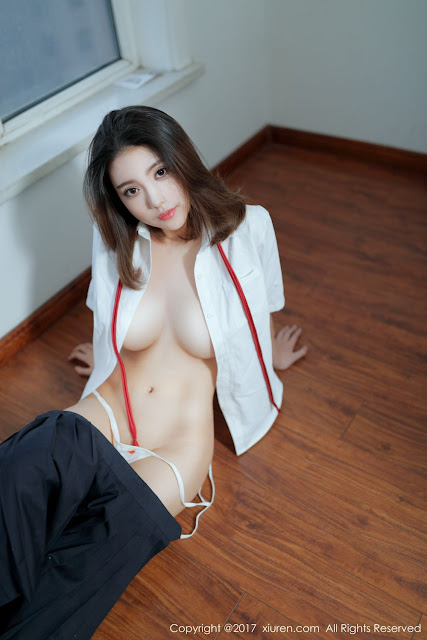 Hot and sexy big boobs photos of beautiful busty asian hottie chick Chinese booty model Xiao Mo Nu Nai Nai photo highlights on Pinays Finest sexy nude photo collection site.