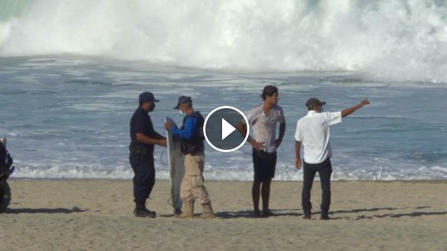 Surfing Puerto Escondido During COVID 19 LOCKDOWN