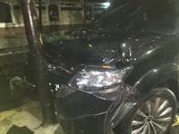 Inilah Kondisi Mobil Yang Menurut Pengacara Setya Novanto Hancur cur cur….