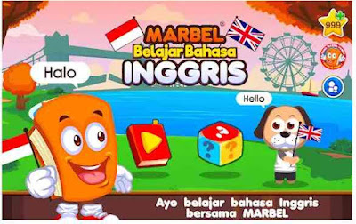 Aplikasi Marbel Belajar Bahasa Inggris
