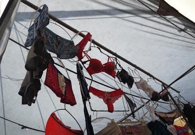 lingerie na Feira de Espinho
