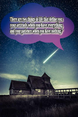 Positive attitude status