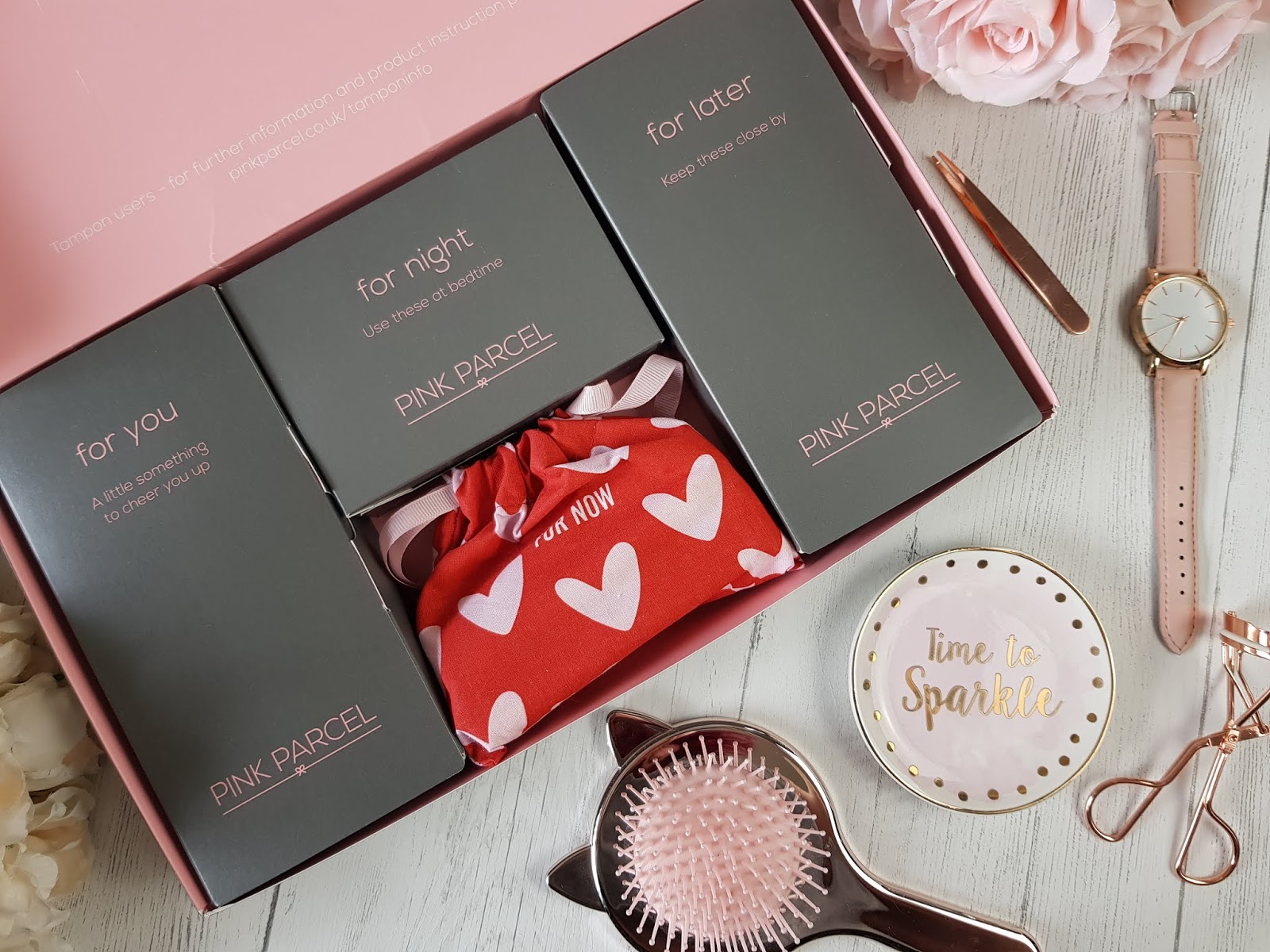 Pink Parcel Monthly Subscription Box