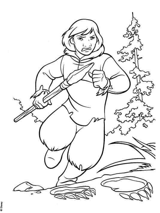 brave coloring pages Minister Coloring