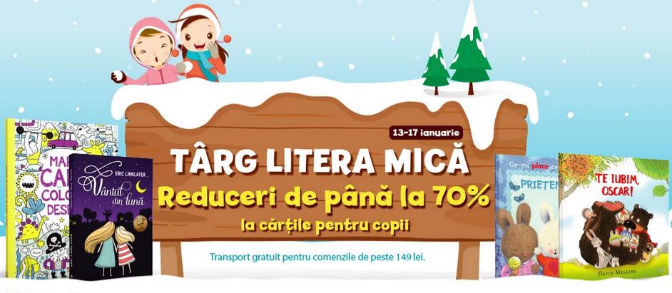 Târg Litera Mică (13-17 ianuarie 2021)