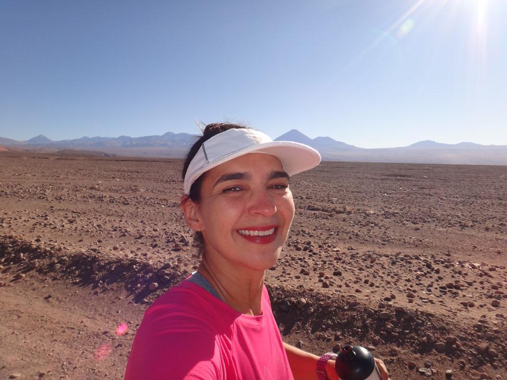 Como é correr no Deserto do Atacama