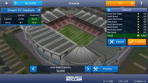 Dream League Soccer 2018 mod rexdl, revdl