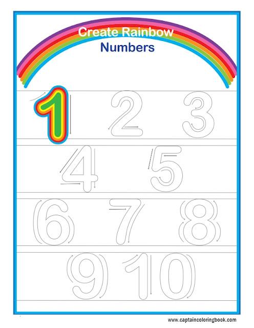 kids preschool exercises number