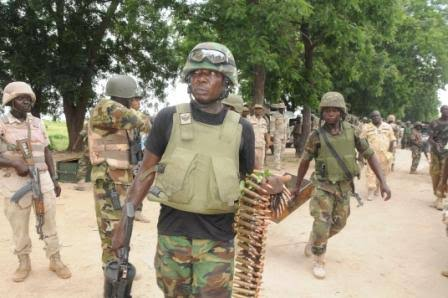 Soldiers Recover 50 Girls Abducted by Boko Haram