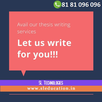Thesis Writing Service :: Let us Write for you :: 8181096096