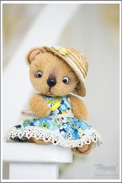 игрушки тедди от Ани Тереховой