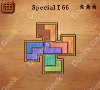Cheats, Solutions, Walkthrough for Wood Block Puzzle Special I Level 66