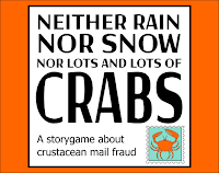 Neither Rain Nor Snow Nor Lots And Lots of Crabs logo