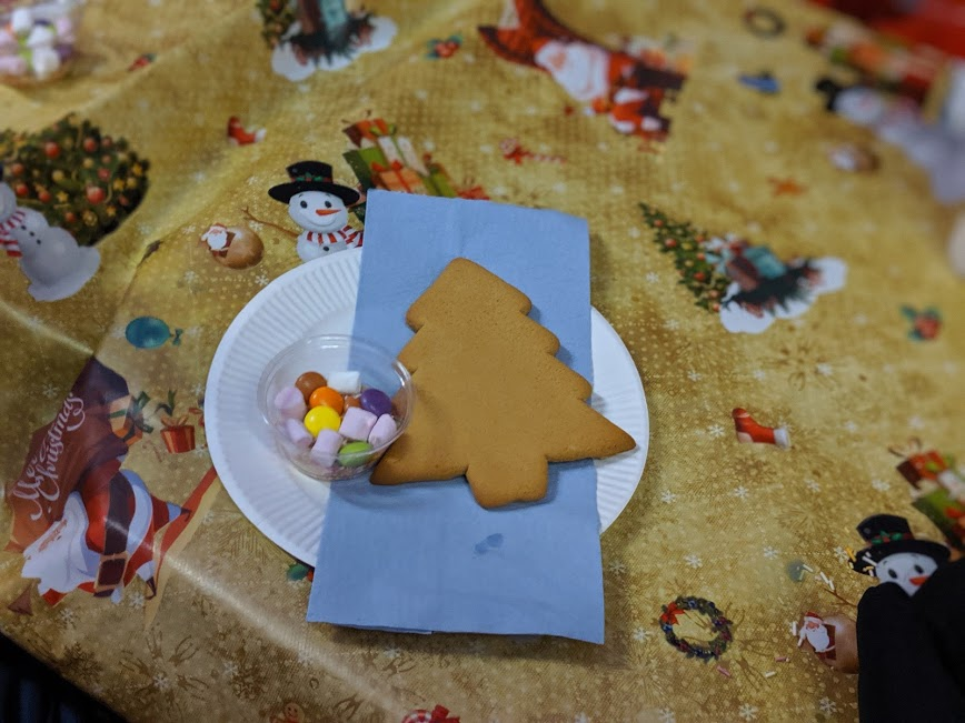 Christmas & Santa at Whitehouse Farm - A Review  - decorating christmas cookies