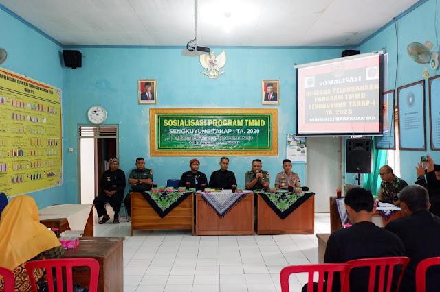 KodimKaranganyar - Guna Memperlancar Program TMMD Sengkuyung Tahap I, Kodim 0727 Karanganyar Gelar Sosialisasi