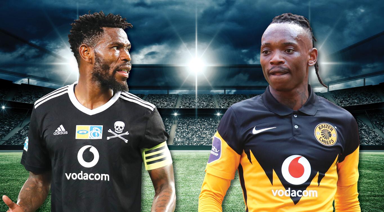 Thulani Hlatswayo and Khama Billiat will be key battle this Saturday