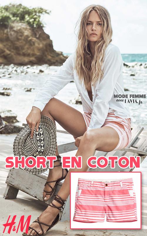 Short en coton H&M