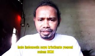 Krisyanto Yen Oni: Yang Ada Suku Papua Bangsanya Indonesia