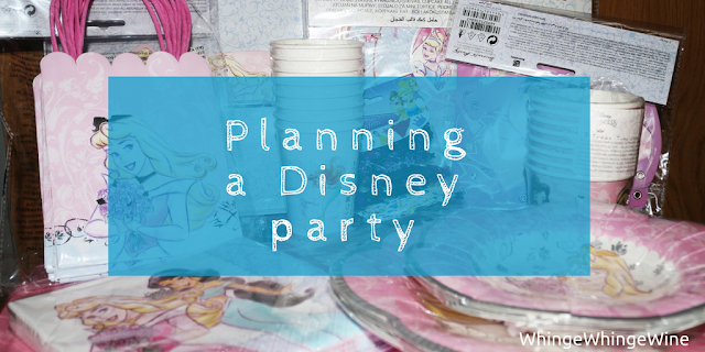 Planning the perfect Disney princess party