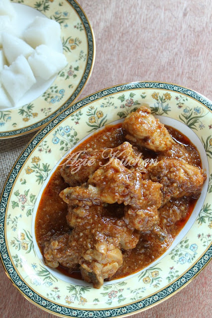 Kuah Kacang Dengan Ayam Istimewa Yang Lebih Sedap