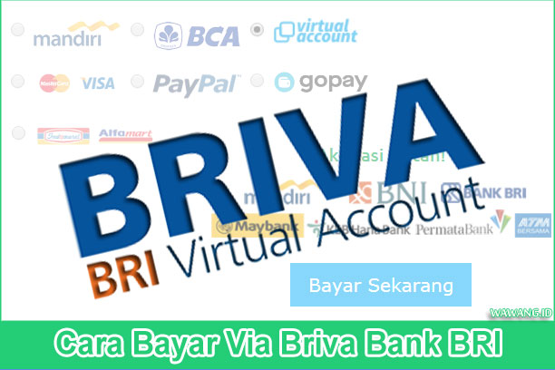 tutorial lengkap cara bayar via briva bank bri baik melalui atm, internet banking, ataupun mobile banking
