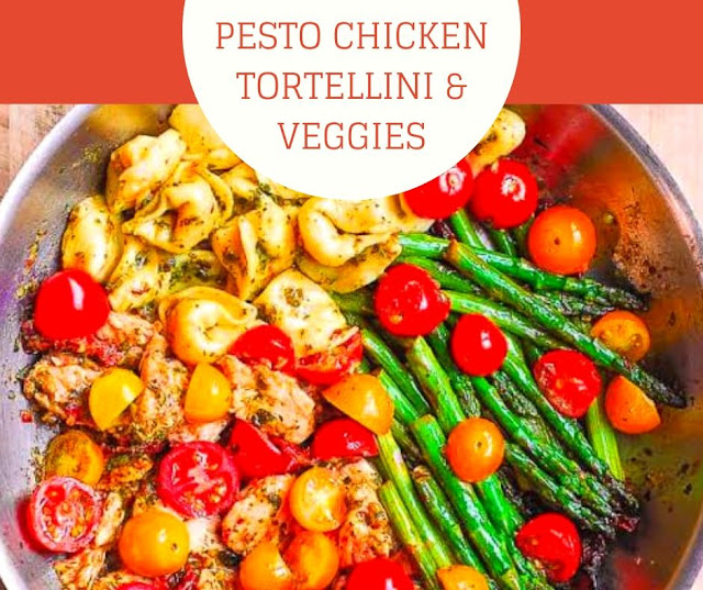 PESTO CHICKEN TORTELLINI & VEGGIES