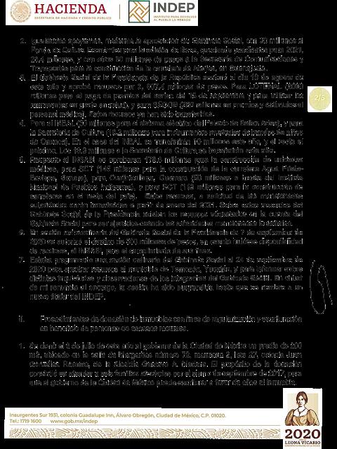 Carta de renuncia del Dr. Jaime Cárdenas Gracia al INDEP