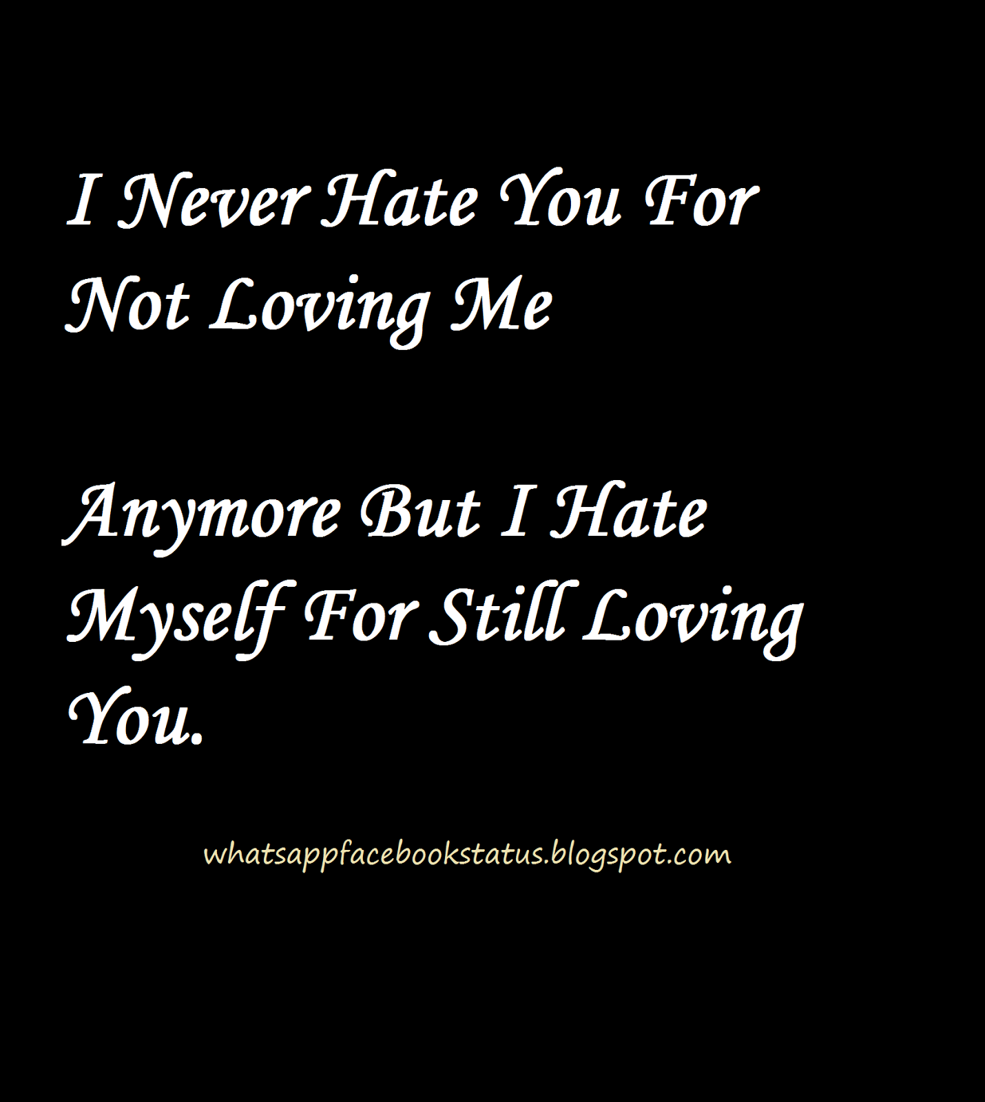 i hate myself quotes