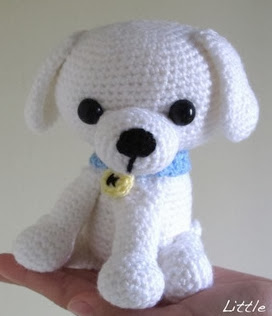http://littleyarnfriends.com/post/28548679575/crochet-pattern-lil-kino-the-puppy